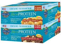 Garden of Life FucoProtein Bars  Chocolate Macadamia Box of 12 Bars