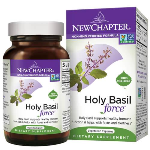 New Chapter Holy Basil Force  120 Liquid Caps