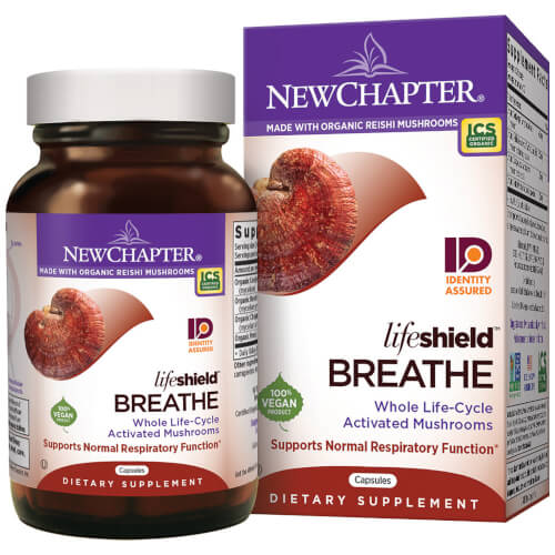 New Chapter LifeShield Breathe  60 Capsules