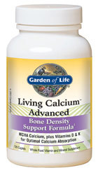 Garden of Life Living Calcium Advanced  120 Caplets
