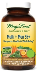 MegaFood Multi Men 55 Plus Two Daily  120 Tablets