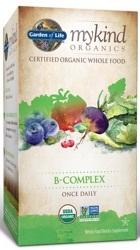 Garden of Life MyKind Organics B Complex  30 Tablets