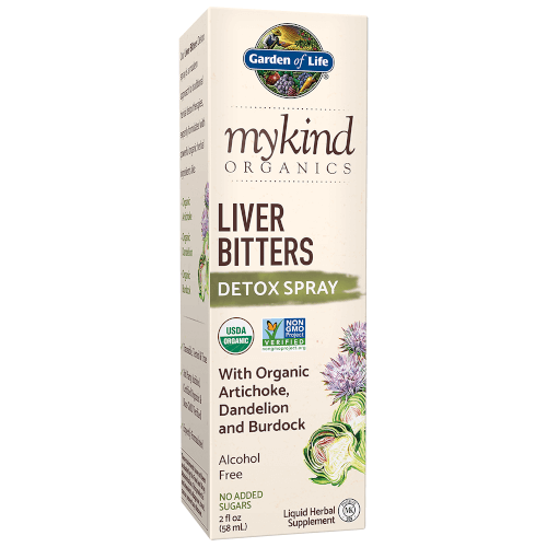 Garden of Life MyKind Organics Liver Bitters Spray  2 oz Liquid