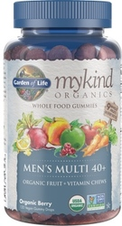 Garden of Life MyKind Organics Mens 40 Plus Gummy Multi  Berry 120 Fruit Chews