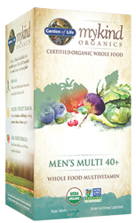 Garden of Life MyKind Organics Mens 40 Plus Multi  120 Tablets