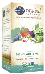 Garden of Life MyKind Organics Mens 40 Plus Multi  60 Tablets