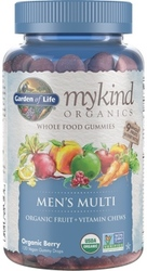 Garden of Life MyKind Organics Mens Gummy Multi  Berry 120 Fruit Chews