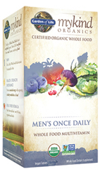 Garden of Life MyKind Organics Mens Once Daily  60 Tablets