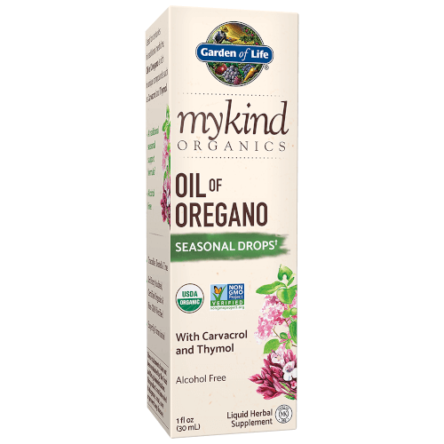 Garden of Life MyKind Organics Oil of Oregano Drops  1 oz Liquid