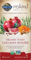 Garden of Life MyKind Organics Plant Collagen Builder  60 Tablets