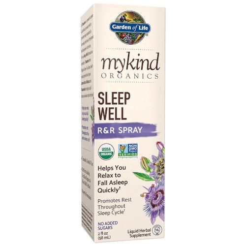 Garden of Life MyKind Organics Sleep Well R and R Spray  2 oz Liquid
