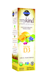 Garden of Life MyKind Organics Vegan D3  2 oz Spray