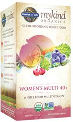 Garden of Life MyKind Organics Womens 40 Plus Multi  60 tablets