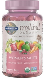 Garden of Life MyKind Organics Womens Gummy Multi  Berry 120 Fruit Chews
