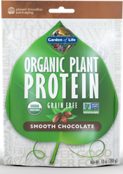 Garden of Life Organic Plant Protein  Smooth Chocolate 276 gram