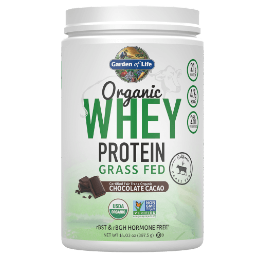 Garden of Life Organic Whey Protein Chocolate 397 gram Grass Fed