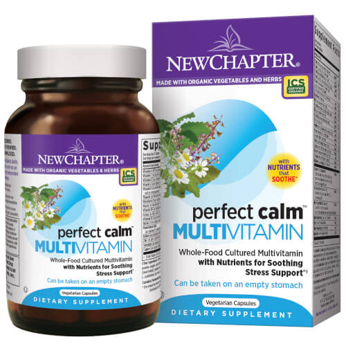 New Chapter Perfect Calm  144 Tablets
