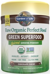 Garden of Life Perfect Food Raw  Organic 570 grams Chocolate Cacao