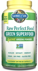 Garden of Life Perfect Food Raw  240 Capsules
