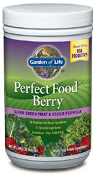 Garden of Life Perfect Food with Berry  240 Grams Powder