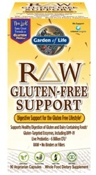 Garden of Life RAW Gluten Free Support  90 Capsules