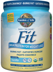 Garden of Life Raw Organic Fit Vanilla 457 gm