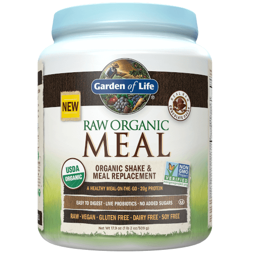 Garden of Life Raw Organic Meal  Chocolate Cacao 509 gram