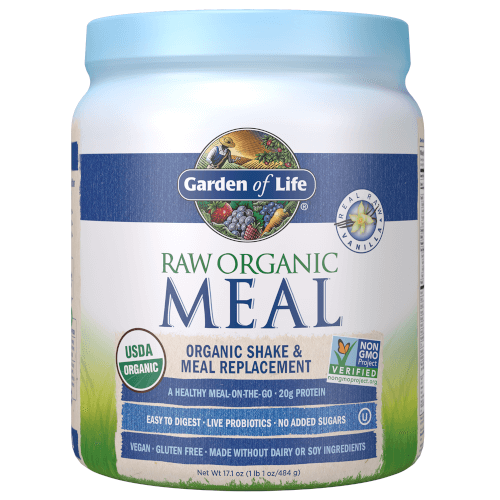 Garden of Life Raw Organic Meal  Vanilla 484 gram