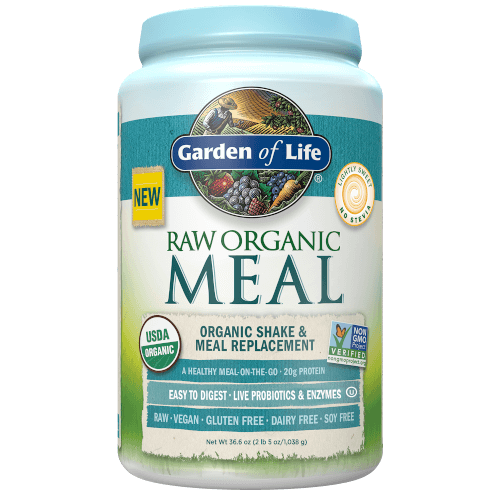Garden of Life Raw Organic Meal Lightly Sweet 1038 grams powder