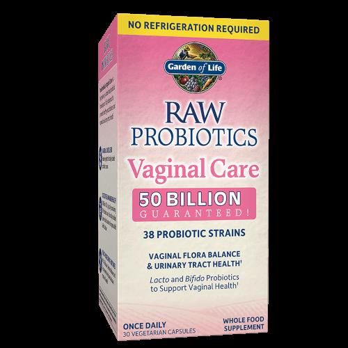 Garden of Life RAW Probiotics Vaginal Care Shelf Stable 30 capsules