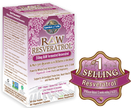 Garden of Life Raw Resveratrol  60 Capsules