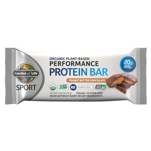 Garden of Life SPORT Bar Peanut Butter Chocolate Box of 12