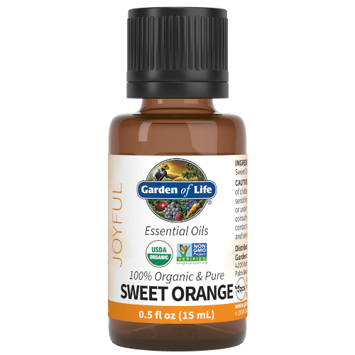Garden of Life Sweet Orange Organic 15 ML Essential Oil