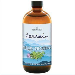 Beyond Organic Terrain Milk Thistle  16 oz bottle
