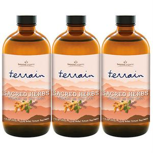 Beyond Organic Terrain Sacred Herb  3 of 16 oz bottles