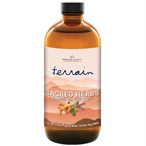 Beyond Organic Terrain Sacred Herbs  16 oz bottle