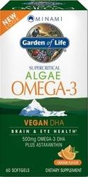 Minami VeganDHA  Orange Flavor 60 Softgels