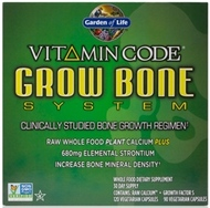 Garden of Life Vitamin Code Grow Bone System  1 Kit