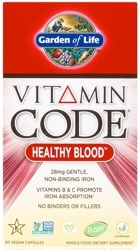 Garden of Life Vitamin Code Healthy Blood  60 capsules