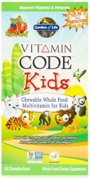 Garden of Life Vitamin Code Kids  60 Bears