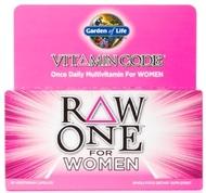 Garden of Life Vitamin Code Raw One for Women  75 Capsules