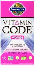 Garden Of Life Vitamin Code Women  240 Capsules