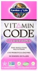 Garden of Life Vitamin Code Womens 50 and Wiser  240 Capsules
