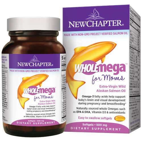 New Chapter WholeMega Prenatal  180 Softgels