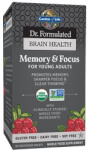 Dr Formulated Brain Health Memory and Focus for Young Adults
