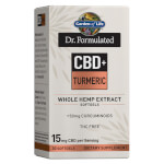 Dr Formulated CBD plus Turmeric