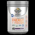SPORT Organic Plant-Based Energy Focus